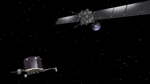 HT Rosetta Philae mar 140805 16x9 608 Rosetta to Orbit Comet After 10 Year Space Journey