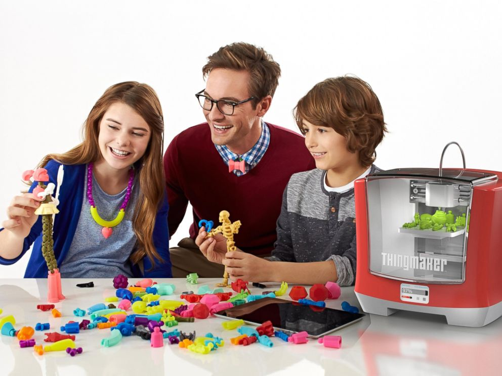 PHOTO: Mattel has re-invented its ThingMaker as a 3-D printer for toys.