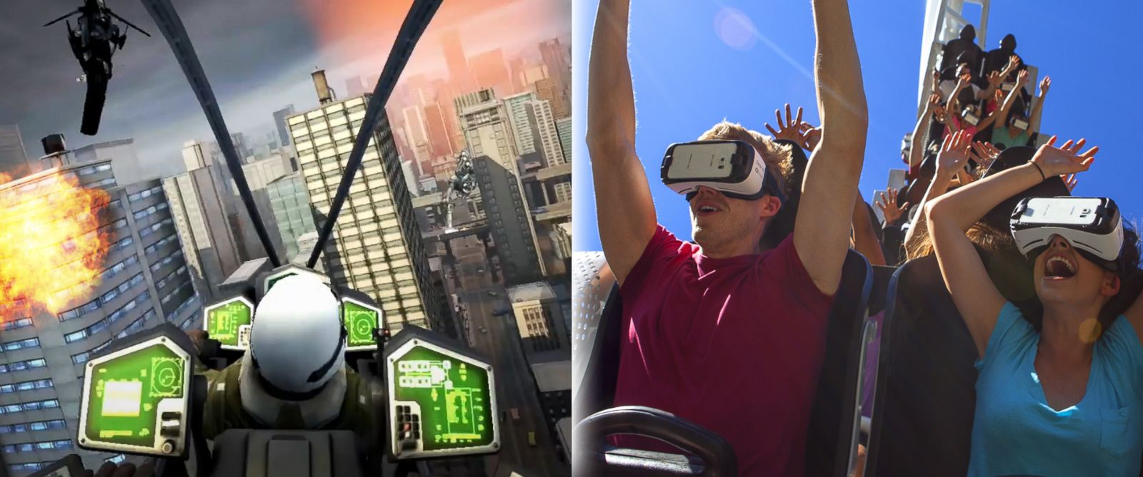 PHOTO:Virtual Reality Roller Coasters using Samsung Gear VR powered by Oculus to debut at nine Six Flags Theme Parks Nationwide.