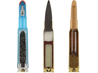 PHOTO: Photographer Captures Colorful Ammunition Cross-Sections