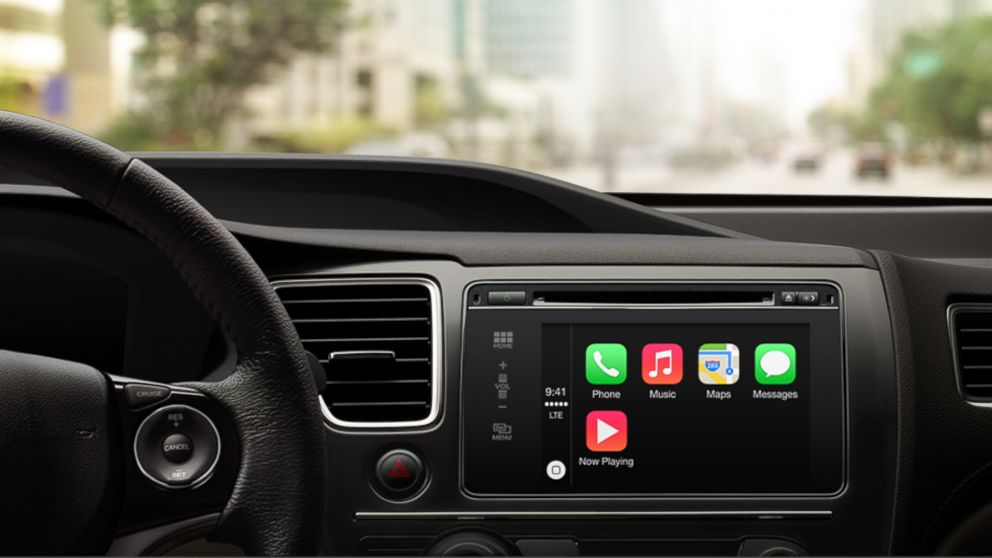 PHOTO: Apple announced that Ferrari, Mercedes-Benz and Volvo would be the first car manufacturers to come with CarPlay.