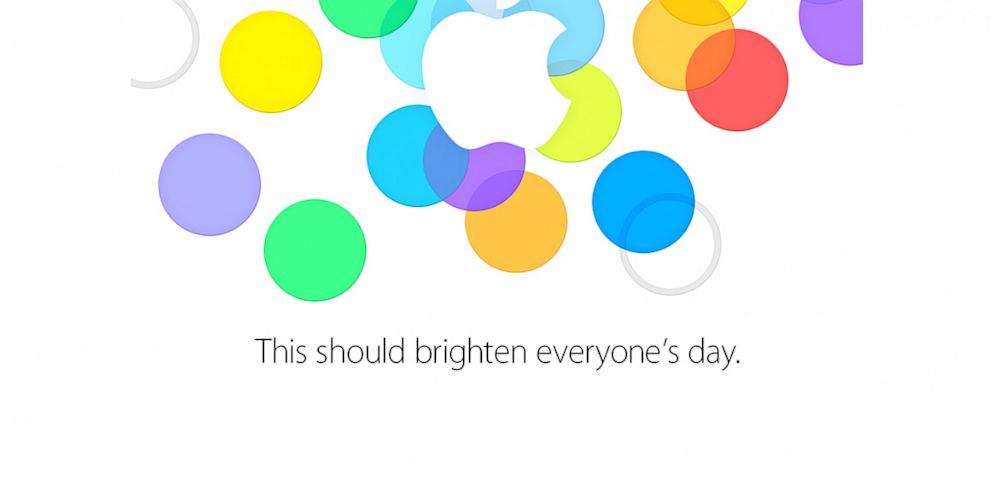 PHOTO: Apples Sept. 10 invite.