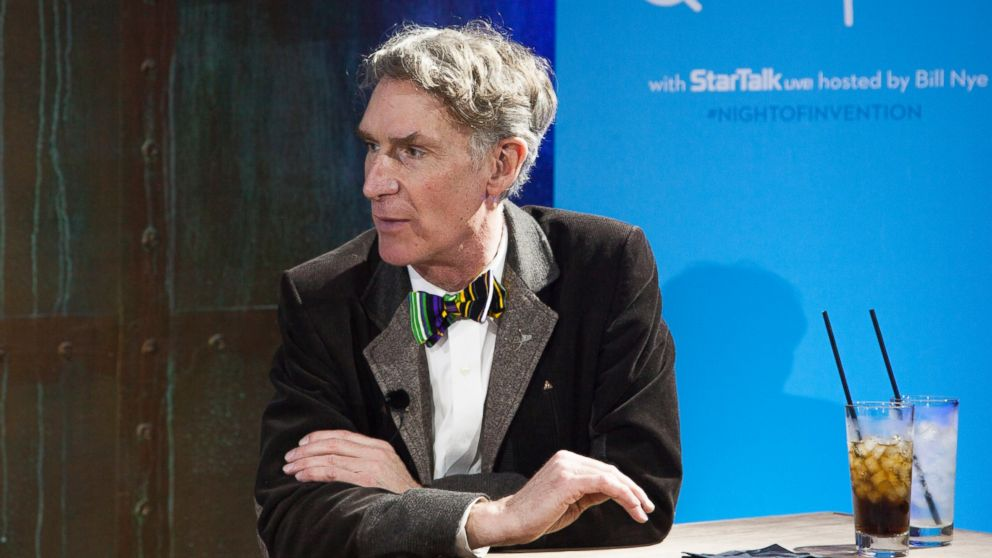 PHOTO: Bill Nye, host of StarTalk Live, speaks at SXSW, March 8, 2013, in Austin, Texas.