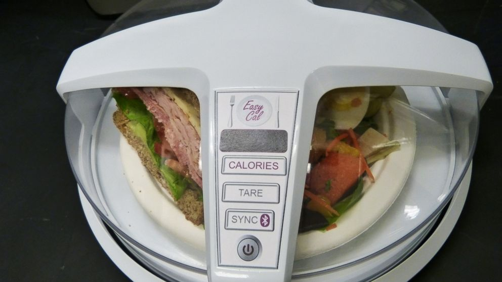 PHOTO: GE is developing a contraption that uses microwaves to count the calories in the food.