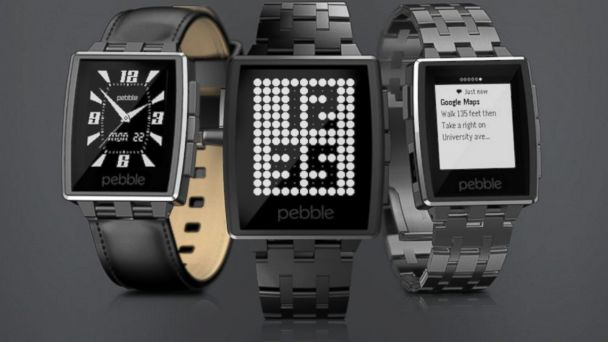 PHOTO: Pebble Steel Smartwatch
