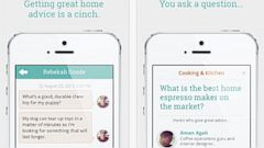 PHOTO: Cinch app will match your qestions to an expert to get you the best answers