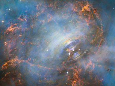 PHOTO: Hubble Peers Into Heart of the Crab Nebula