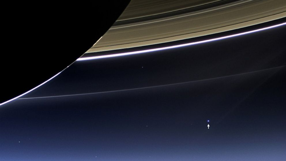 PHOTO: Earth From Saturn