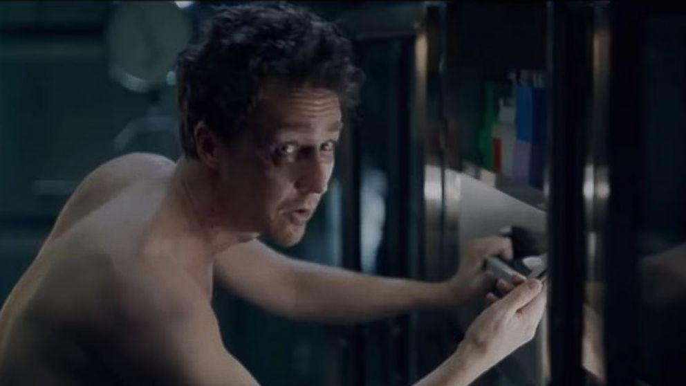 PHOTO: Edward Norton stars in 48 Hours, a YouTube short film promoting Verizon Wireless Droid phones.
