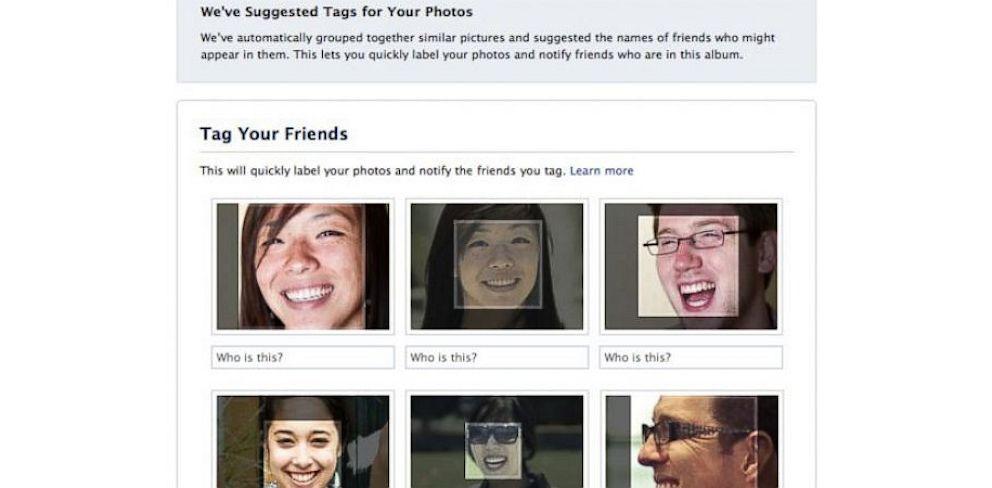 PHOTO: Facebook photo tagging