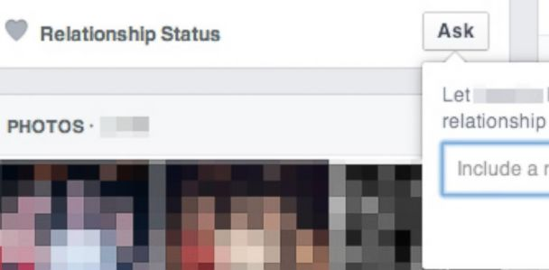 Facebook Button Lets You Ask Friends About Their Love Lives