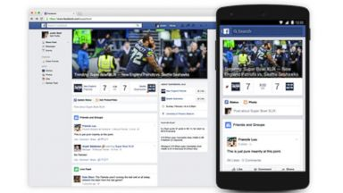 PHOTO: Facebook announced a new Superbowl hub where users can follow friends and the best game day commentary.