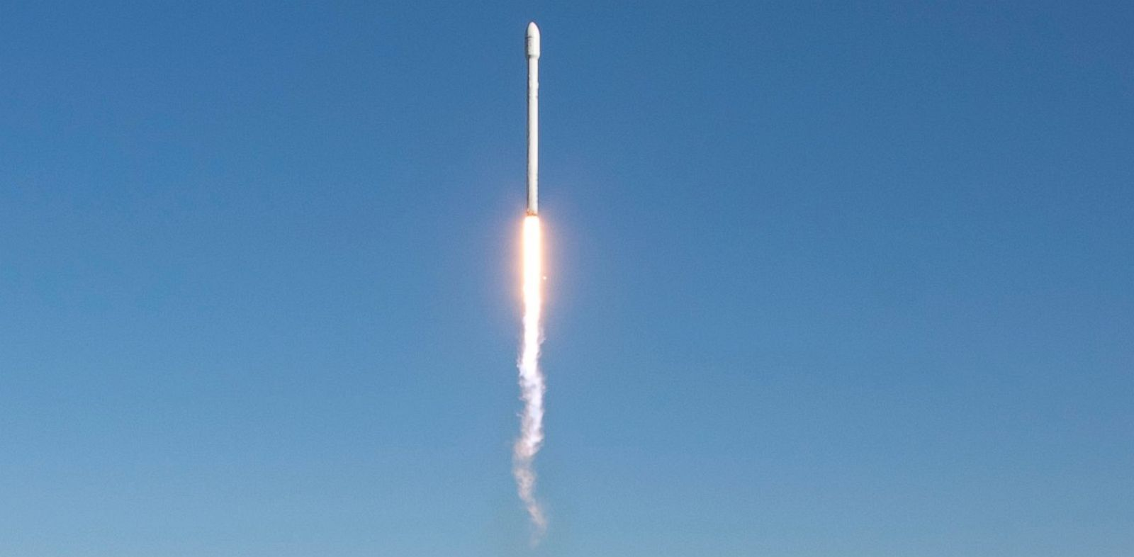 PHOTO: The improved Falcon 9 rocket was first launched from Vandenberg Air Force Base, Sept. 29, 2013.