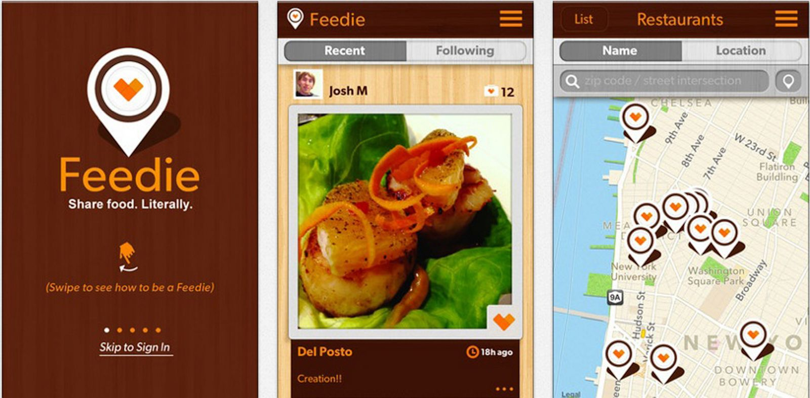 PHOTO: Feedie, and app created by The Lunchbox Fund and Mario Batali