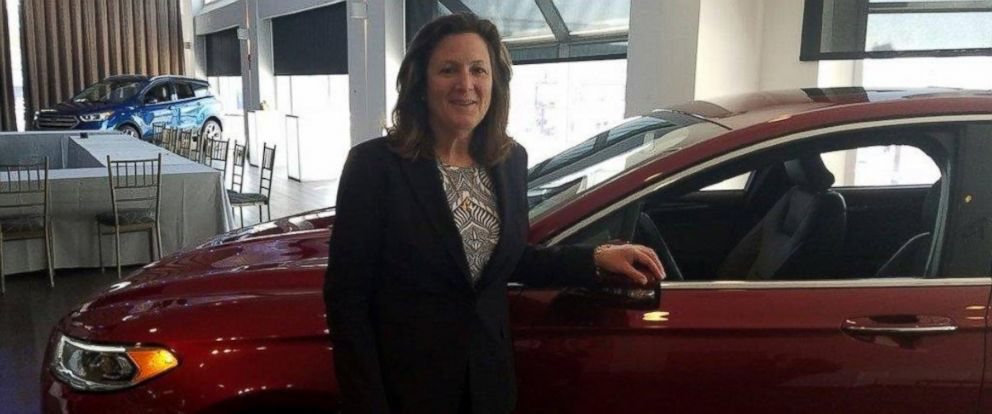 PHOTO: Elena Ford, vice president of global dealer and consumer experience at Ford, is seen here in New York City, March 22, 2016.