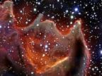 Amazing Photo of Mysterious Gods Hand Space Globule