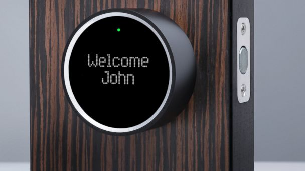 PHOTO: The Goji Smart Lock lets you control who gets access to your house through your smart phone.