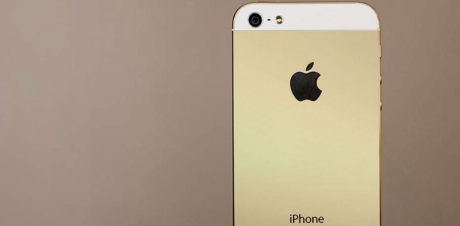 PHOTO: A mock-up of a gold colored iPhone by iMore.com.