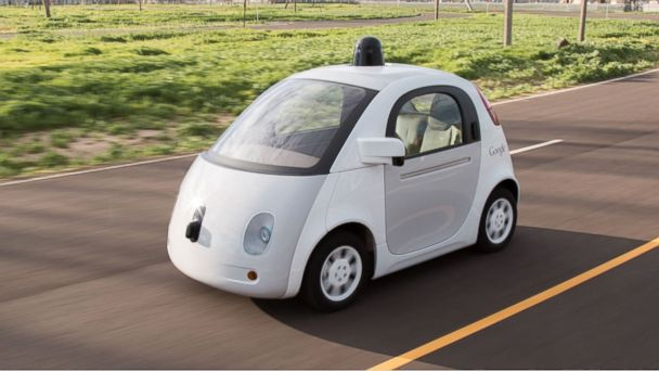 PHOTO: Google's self-driving car.