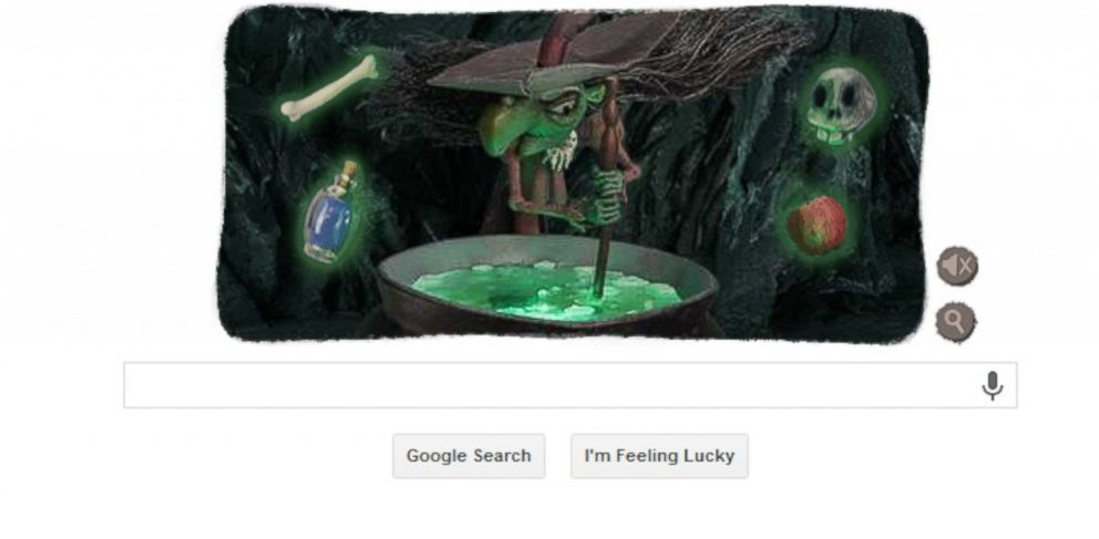 PHOTO: Happy Halloween! Google keeps it classic with its latest Google doodle.