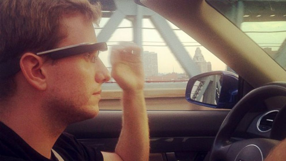 PHOTO: Can you be pulled over for driving while wearing Google Glass?