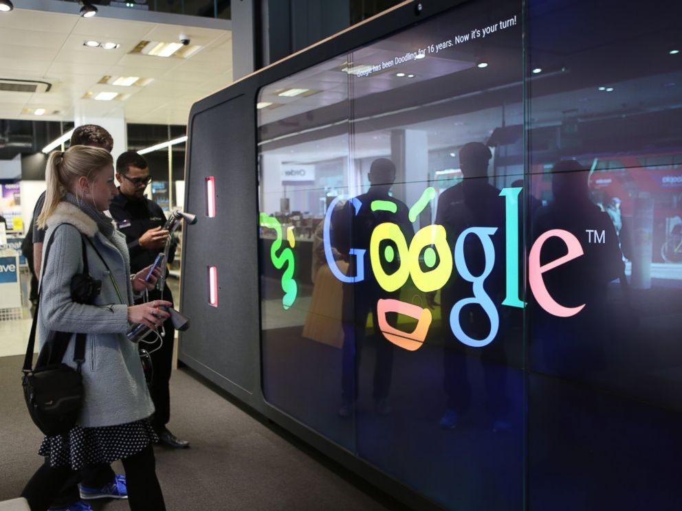 PHOTO: Google has opened its first branded store in London.