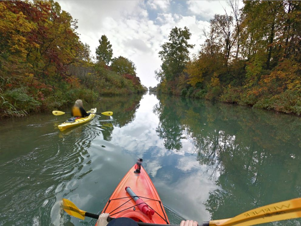 PHOTO: The Island Loop Route National Water Trail is seen on Google Maps via Google Trekker.