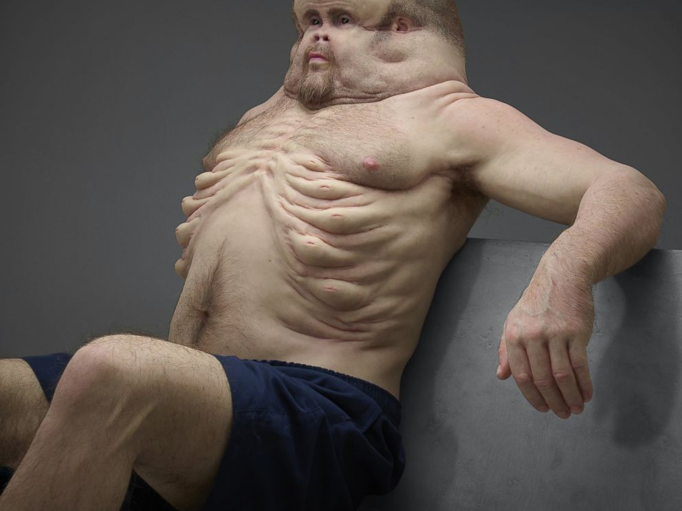 PHOTO: The Transport Accident Commission of Victoria, Australia unveiled Graham, an interactive lifelike sculpture designed to survive crash impacts, July 21, 2016.