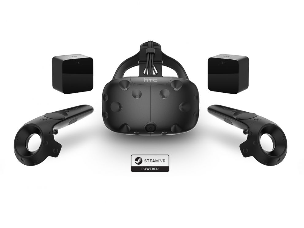 PHOTO: The HTC Vive is seen here in this undated file photo.