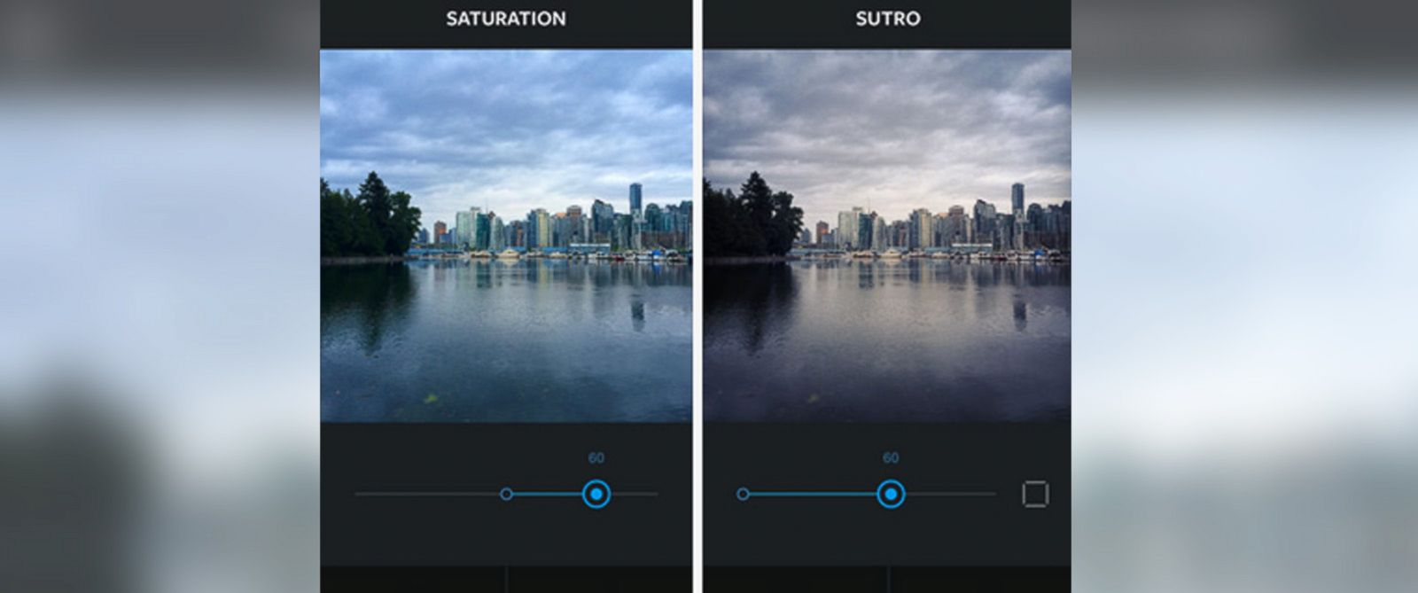 PHOTO:A look at new features in the updated Instagram.