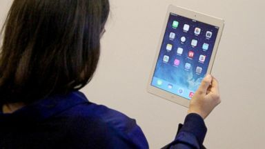 PHOTO: The iPad Air weighs just one pound.