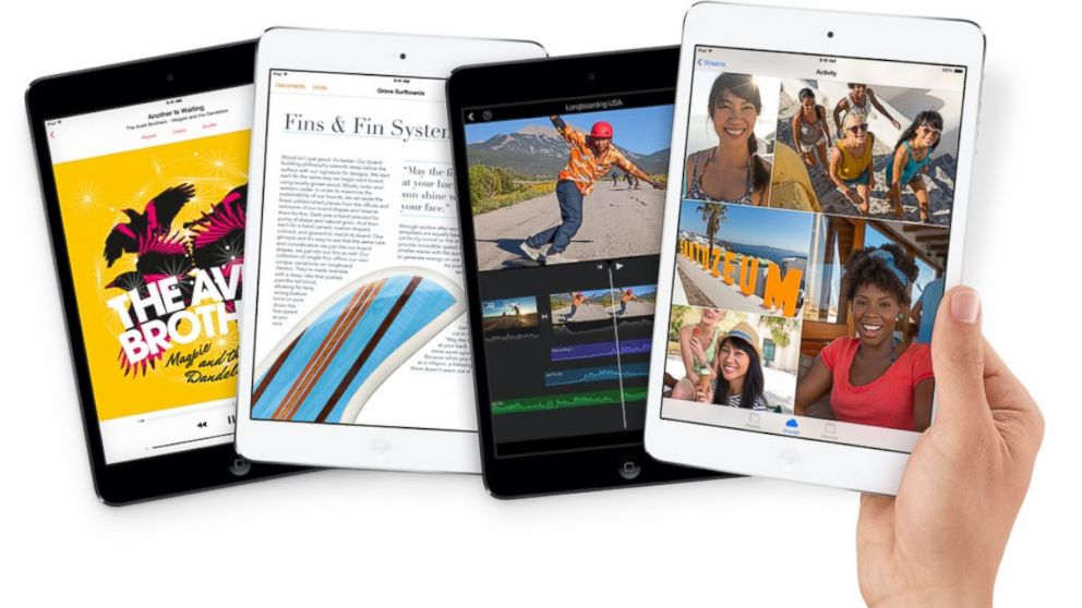 PHOTO: The iPad Mini with Retina Display starts at $399.