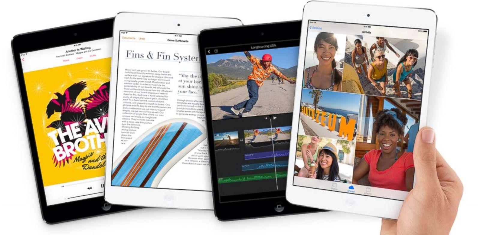PHOTO: The iPad Mini with Retina Display starts at $399.