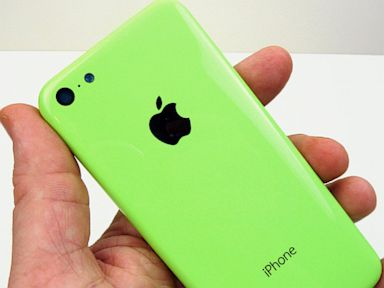 PHOTO: A photo of the purported iPhone 5C.