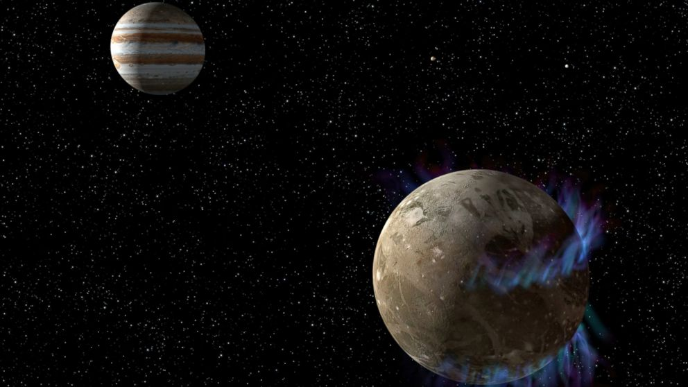 jupiter moons hubble - photo #9