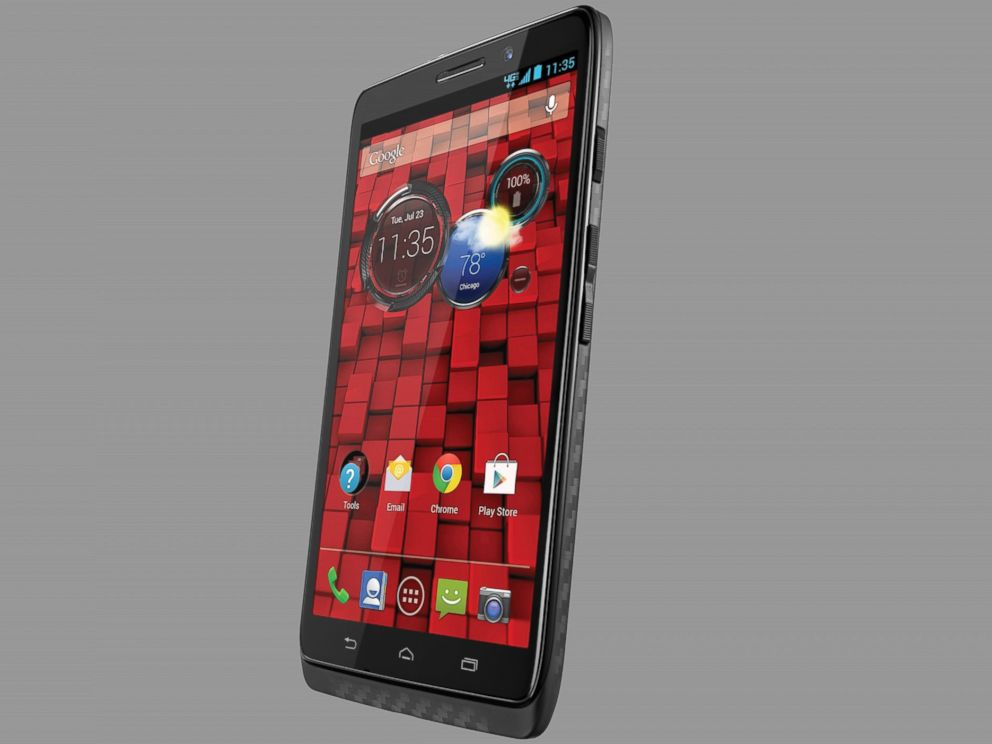 PHOTO: Kevlar is used in this Motorola smartphone.