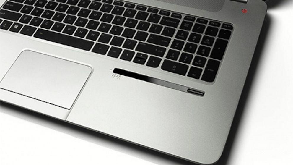 PHOTO: The new HP Envy laptop will come equipped with a Leap Motion sensor.
