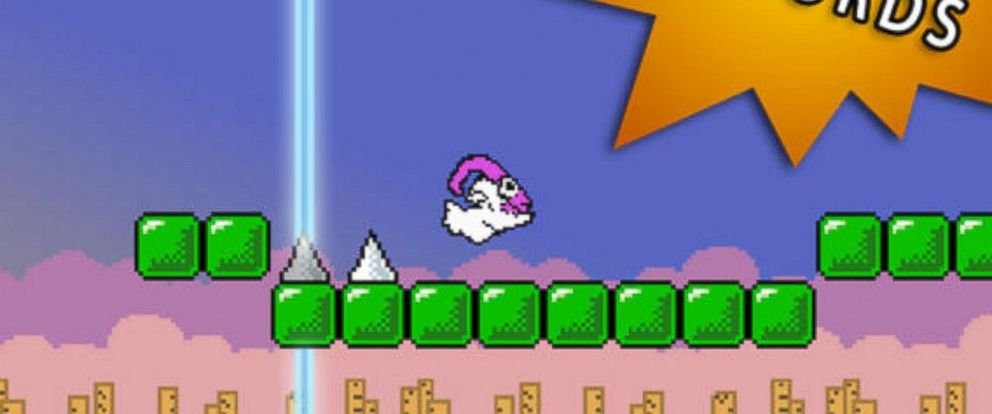 """PHOTO: A new game called """"Let It Goat"""" is being compared to """"Flappy Bird."""""""