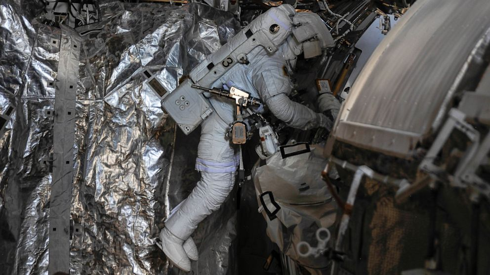 PHOTO: NASA Astronaut Nearly D