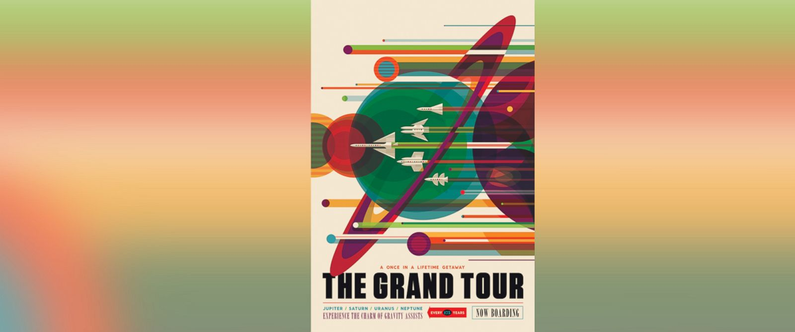 PHOTO:NASA released a series of posters touting space exploration destinations.