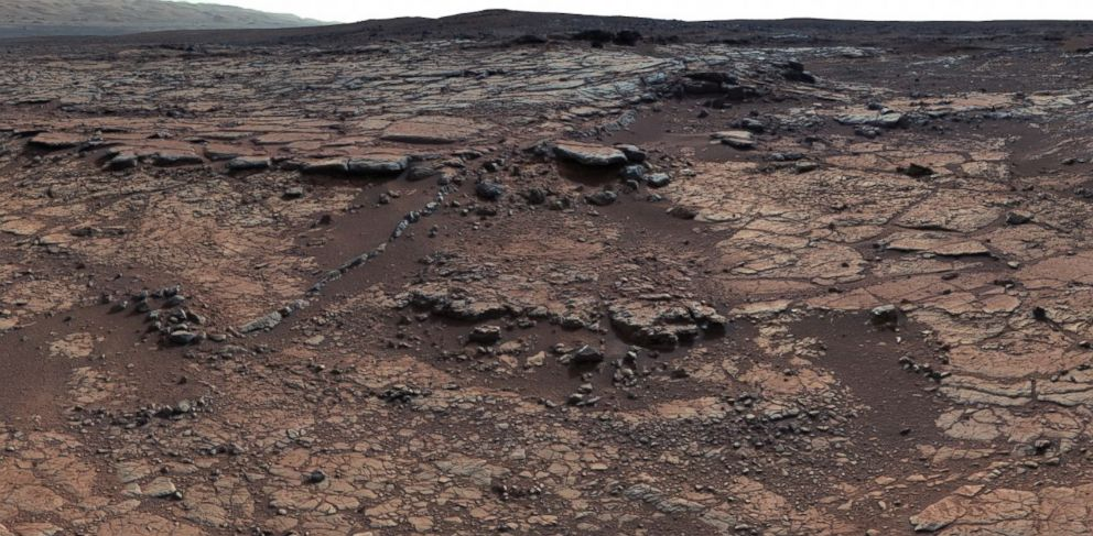 PHOTO: The scientists behind the Curiosity Rover recently published data about Mars Yellowknife Bay Formation.