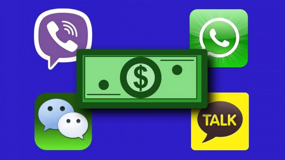 PHOTO: A Mashable composite, featuring KakaoTalk, Viber, Whats
