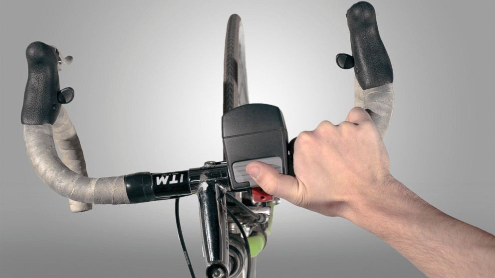 PHOTO: Avid cyclists out of Brooklyn have created MYBELL, a new digital horn and lights system for bikes and scooters.