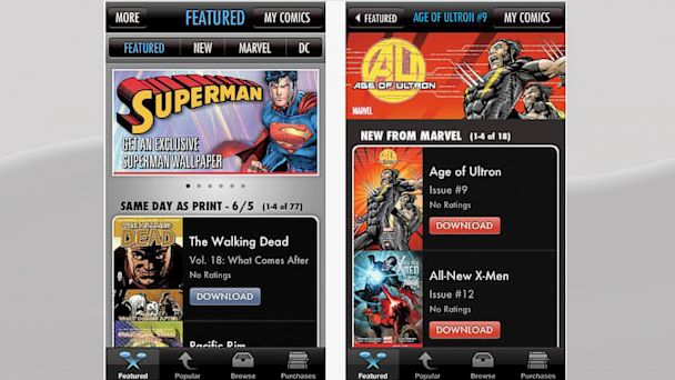 HT my comics app nt 130705 16x9 608 App of the Week: Comics by comiXology