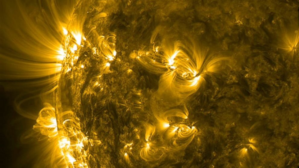 PHOTO: NASAs Solar Dynamics Observatory captured mesmerizing video of solar activity in the days leading up to the Fourth of July.