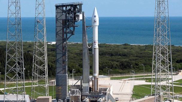 PHOTO: OSIRIS-REx rollout to the Pad 41 for the upcoming launch, Sept. 8, 2016, in Cape Canaveral, Florida.