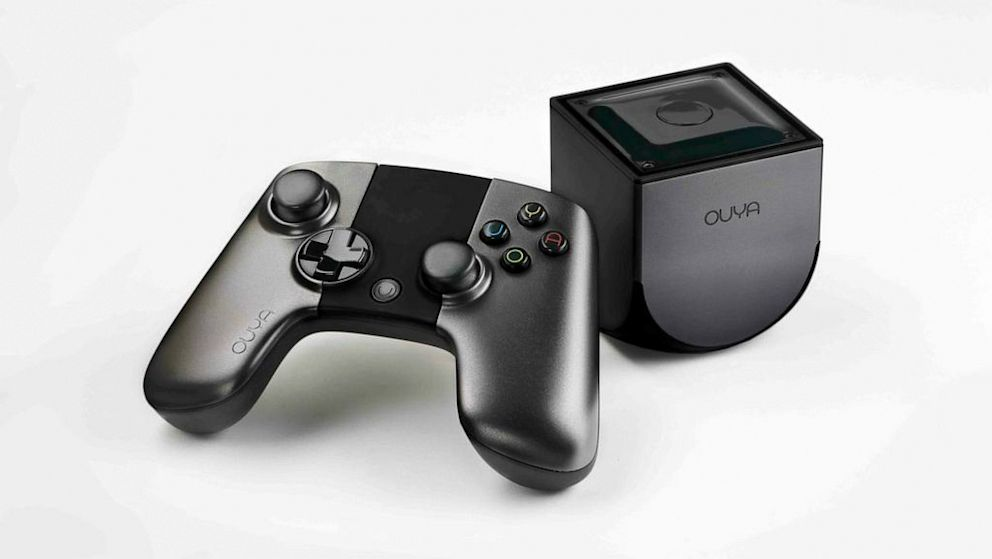 PHOTO: The $99 Ouya gaming console includes a controller, the small console and over 100 free games.