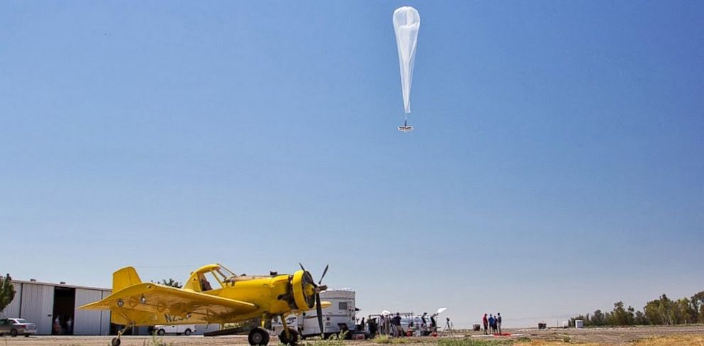 PHOTO: Googles Project Loon