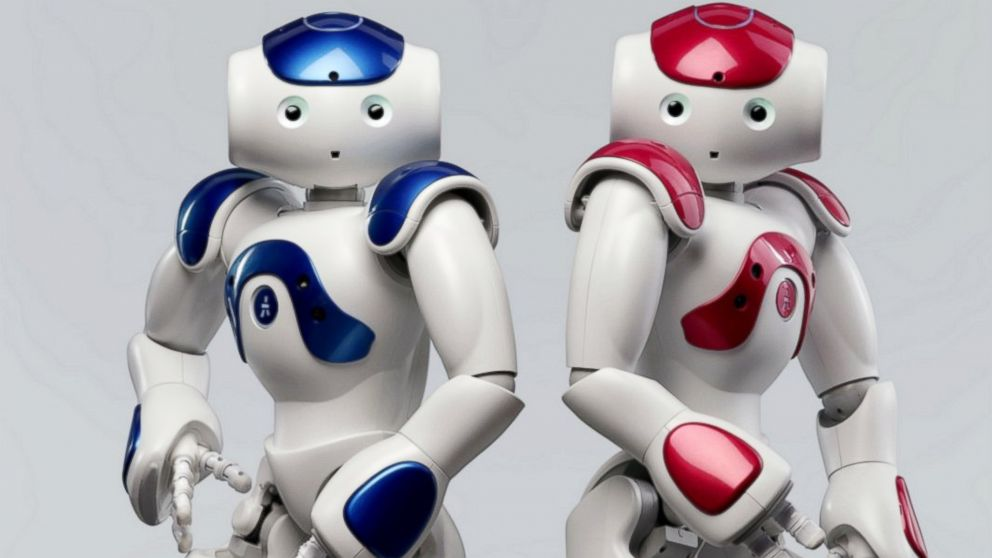 PHOTO: Aldebaron robots are shown in this photo provided by Nuance Communications.