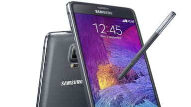 PHOTO: The Samsung Galaxy Note 4 was released at Samsung Unpacked, Sept. 3, 2014.